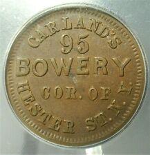 Nd Civil War Token - Carland's Icg Xf45 Fuld #630P-1b,Ny #S299 (Naz)