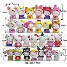 New 26pcs/set 1.7''Hello kitty Anime action figure collection PVC Toys Gifts