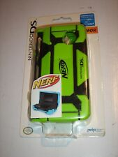 GREEN Nintendo DS NERF Case for DSi & DS lite DUAL ARMOR NEW
