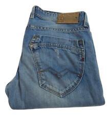 "Replay Mijag Slim Straight Leg M 904 Jeans Waist 33"" Leg 32"" Button Fly (M8756)"