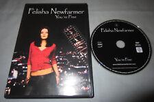Felisha Newfarmer: You're Free - 2006 Region-Free PAL Music DVD Video - RARE!