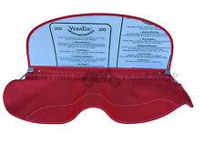 Parabrezza/Sulla privacy in rosso brillante DUNA Sidecar,completo