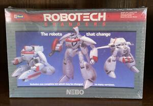 """REVELL 1400 ROBOTECH CHANGERS NEBO 8.75"""" TALL PLASTIC MODEL KIT 1984 Brand new!"""