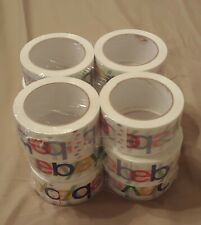 "12 PACK ROLLS 2"" x 75 yards Classic Official eBay Shipping Packaging Tape"