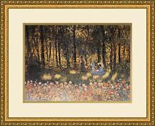 Claude Monet - Day NEWLY Custom  Framed Print FREE SHIPPING