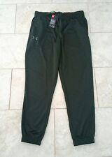 New Under Armour Mens All Season Hunter Green Sweatpants Long Pants Medium