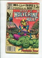 What If? #31, VG 4.0, What If Wolverine Killed the Hulk? X-Men, Magneto