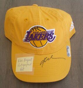 Los Angeles Lakers Kobe Bryant Autographed Baseball cap w/ COA
