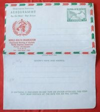 MayfairStamps Papua & New Guinea 1963 World Health Organization Mint Aerogramme