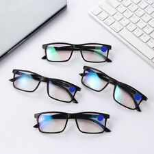 Occhiali da lettura progressivi multi-focus unisex a specchio anti-Blu-ray