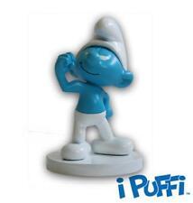 Bustina personaggio 3D PUFFO FORZUTO Collezione I PUFFI FORESTA Edizioni sbabam