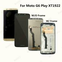 For Motorola Moto G6 Play XT1922-2 XT1922-5 LCD Display Touch Screen Replacement