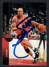 Scott Williams #294 signed autograph auto 1994-1995 Upper Deck Basketball Card