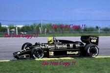 Ayrton Senna JPS Lotus 98T Brazilian Grand Prix 1986 Photograph 2