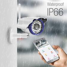 Outdoor Waterproof HD 720P IP Camera Wireless Night Vision Security WiFi Cam