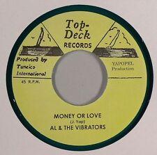 AL & THE VIBRATORS - MONEY OR LOVE (TOP TECK) 1964