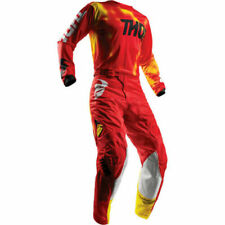 THOR PULSE AIR RADIATE RED MX MOTOCROSS ENDURO OFFROAD ADULT KIT GEAR SUIT SALE