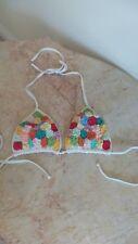 flor brazil beachwear bikini top only!!