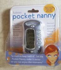 Itzbeen Pocket Nanny Blue 4 Timers Diaper Change Nursing Sleep Medication Sealed