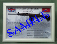 SLR, L1A1 Self Loading Rifle - UK version - Black Stock