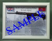 SLR, L1A1 Self Loading Rifle, - UK version - Black Stock