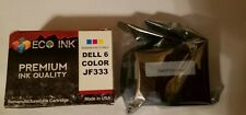 Dell JF333 Series 6 Color Ink Cartridge.        L912
