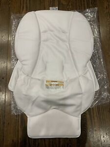 Graco Blossom High Chair White Padded Seat Cover Brand New