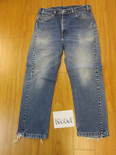 used Levi's 505 feather destroyed USA grunge jean tag 36x30 meas 32x28 18606F