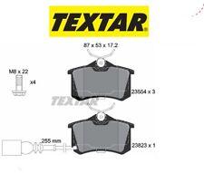 2382301 Kit pastiglie freno a disco ant.Seat-Vw (MARCA-TEXTAR)