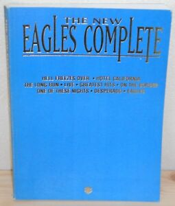 SPARTITO TABLATURE EAGLES The new Eagles complete (Warner Bros 95 USA) songbook