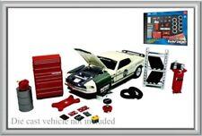 1:24 Scale Repair Garage Set Model Display Accessories - Hobby Gear #18420