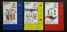 Malaysia Chairman Of ASEAN 2015 Flag Costume Traditional (stamp plate) MNH