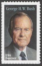 US 5393 George H W Bush forever single (1 stamp) MNH 2019