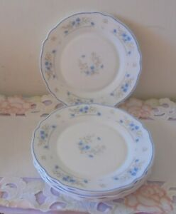 SIDE PLATES X 6 - Arcopal 'Romantique' Roses - Chip Resistant - Excellent Cond