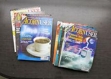 """Zeitschrift für klassische Acorn Archimedes und RiscPC Computer - """"Acorn User"""""""