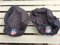 NFL GAME USED Skull Caps, Large, From Patriots vs Dolphins game 2019.