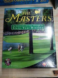 NEW The Masters 60 year history PC CD-Rom  RARE BIG BOX