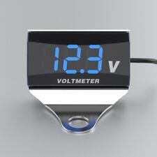 Motorcycle Dc 10 150v Digital Voltmeter Led Display Waterproof Voltage A6j0