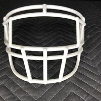 Schutt Super Pro EGOP-I Adult Football Helmet Facemask - White
