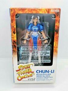 Revoltech: Street Fighter Online MG #003 Chun-Li Action Figure NEW UNOPENED