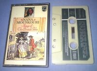 NANA MOUSKOURI SONGS OF THE BRITISH ISLES PAPER LABELS cassette tape album T5500