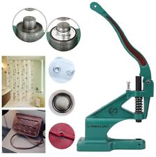 Green Hand Press Machine Snap Button Attaching Manual Grommet Install For Cloth