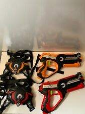 HISTOYE Large Laser Tag Sets with Gun and Vest Infrared Laser Tag Guns