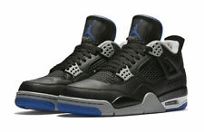 buy online 4a0b8 49c36 Nike Men s Air Jordan 4 Retro Sneakers - Size 11 US, Black Royal