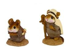 Wee Forest Folk M-122a/b Shepherds - Set of 2