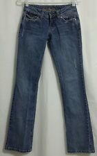 Womens Guess Doheny Jeans Flap Pocket Distressed 24/2 Juniors Denim Jrs