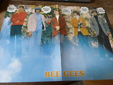 BEE GEES - Poster vintage !!!! 2P !!!