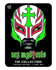 WWE - REY MYSTERIO - TIN COLLECTION (SPECIAL 5 DVD SET) BRAND NEW!!! SEALED!!!