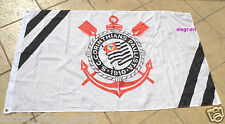 Corinthians Flag Banner Bandeira Bandera 3x5 ft Brazil Paulista Futbol Soccer