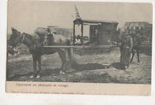 Caravanne Palanquin De Voyage Middle East Vintage Postcard US054